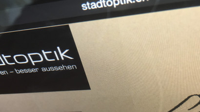 Stadtoptik Website